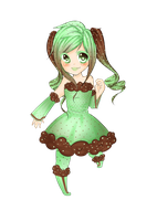 Mint Choc Chip Adoptable (Sold) by SapphieChan