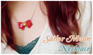 Sailor Moon Bow Necklace by Leviana