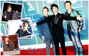 Green Day at Grammys wall by letitbehappy