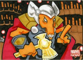 Marvel Now - Beta Ray Bill by 10th-letter