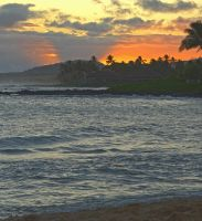 Another Poipu Sunset by MogieG123