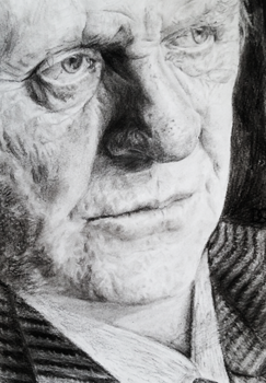 Anthony Hopkins Close-Up by AstronAUT95