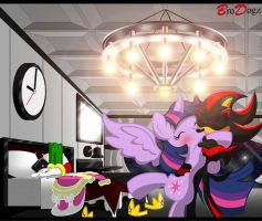 Commission: Shadow and Twilight - Dream Suite by BroDogz