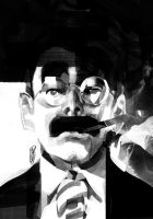 GROUCHO Noir by GigiCave