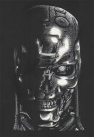 Terminator Scratch Board by ThePat