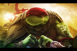 Apocalyptic Raphael by Anothen