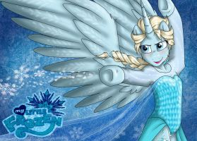 Elsa Wallpaper 2 [MLF] by NamyGaga