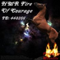 HMR Fire of Courage 2 by MoonliteHoofbeats