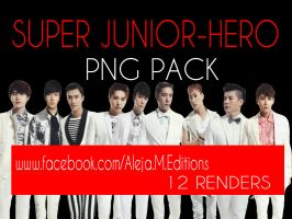 Super Junior-hero-png Pack By Ale Editions by DDLoveEditions