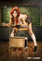 Annalee Belle by 8bitfuzion