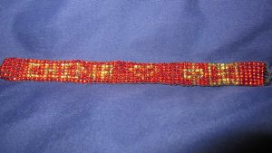 Completed CHN pride bracelet commission by Arachnoid