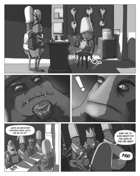 Page Eleven 11 Rough by Gargantuan-Media