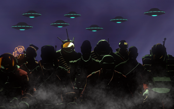 The Invasion is comeing by AgentVigilante