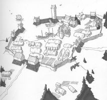 norse town by Pachycrocuta