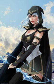 Ashe by GraceZhu
