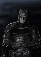 BATMAN (Affleck Suit) by NakedMazaFaker