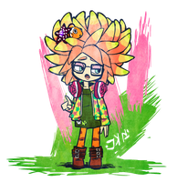 Splatoon: Annie the Anemone by apostlebird