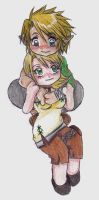 Link loves Ilia by Axel26