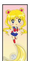 Sailor Moon Bookmark by MaddyLineArt
