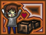 Markiplier- BOXES!!!! by PikaPanic25