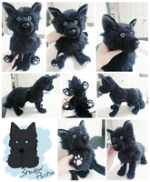 Shadow Plushie by whitepup