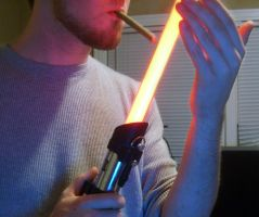 Lighting Up Sith Style by Carlzors