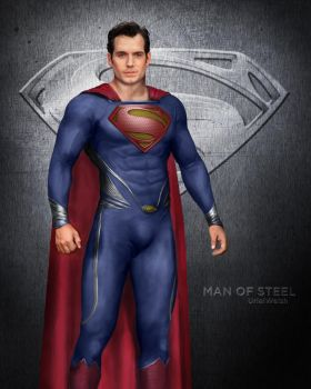 Clark Kent the Man of Steel by urielwelsh