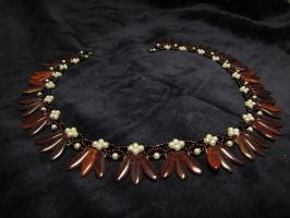 Red dagger necklace 2 by Yanagi-no-Yume