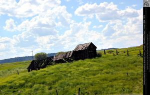 Old Colorado Ranch by DamselStock