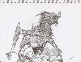 Alduin by draft-drift
