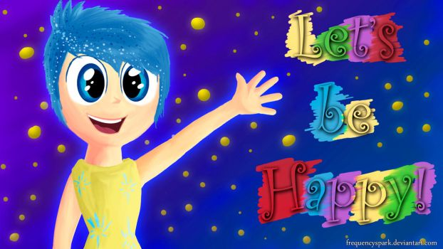 Inside Out - Joy - Wallpaper by Sparxyz