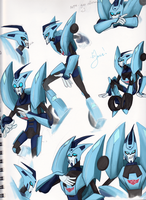 Blurr Study 2 by ManicDraconis