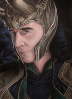 Loki - The God of Mischief (Drawing) by EduardoCopati