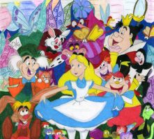 Alice in Wonderland by DisneyGirl52