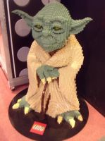 Lego Yoda by moldypotatoes
