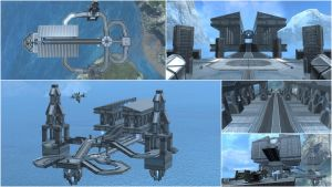 "Halo: Reach Map - ""Parthenon"" by WhiteRaven30"