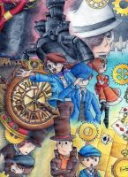 profesor layton by ictercia