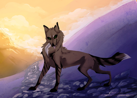 Mountains by frostfoxie