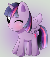 Twilight Sparkle Chibi by Naruto-Cupcakes
