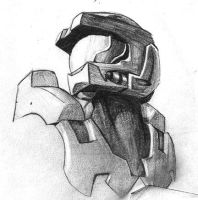 Master Chief by chrisbeaver