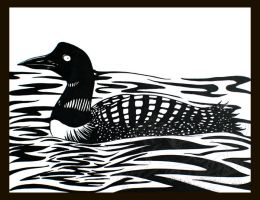 Loon by rheall