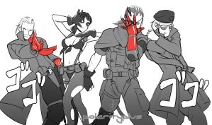 MGSV - Diamond Joes by polarityplus