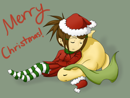 Merry Christmas 2011 by chiyokins