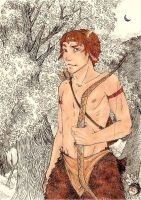 Kael The Faun by ChocolateIsForever
