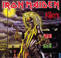 Iron Maiden - Killers by CUBASMETAL