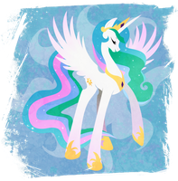 Celestia - Princess of the Day by Rariedash