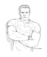 Punisher Sketch by montes-h