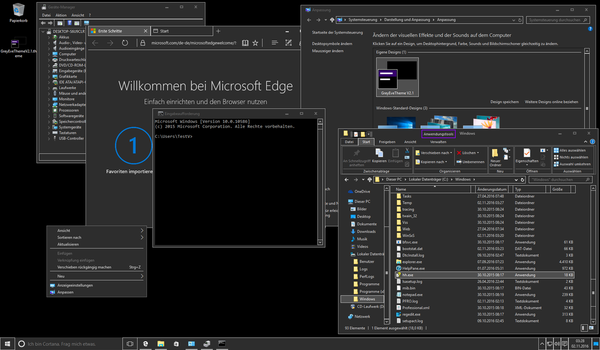 GreyEveTheme FINAL- Windows 10 High Contrast Theme by eversins