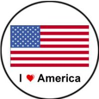 Hetalia America Button by FoxTrotProducts