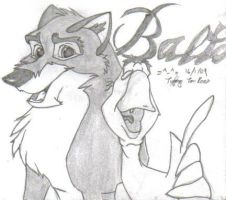 Balto and Boris by Tigz-Moonlight